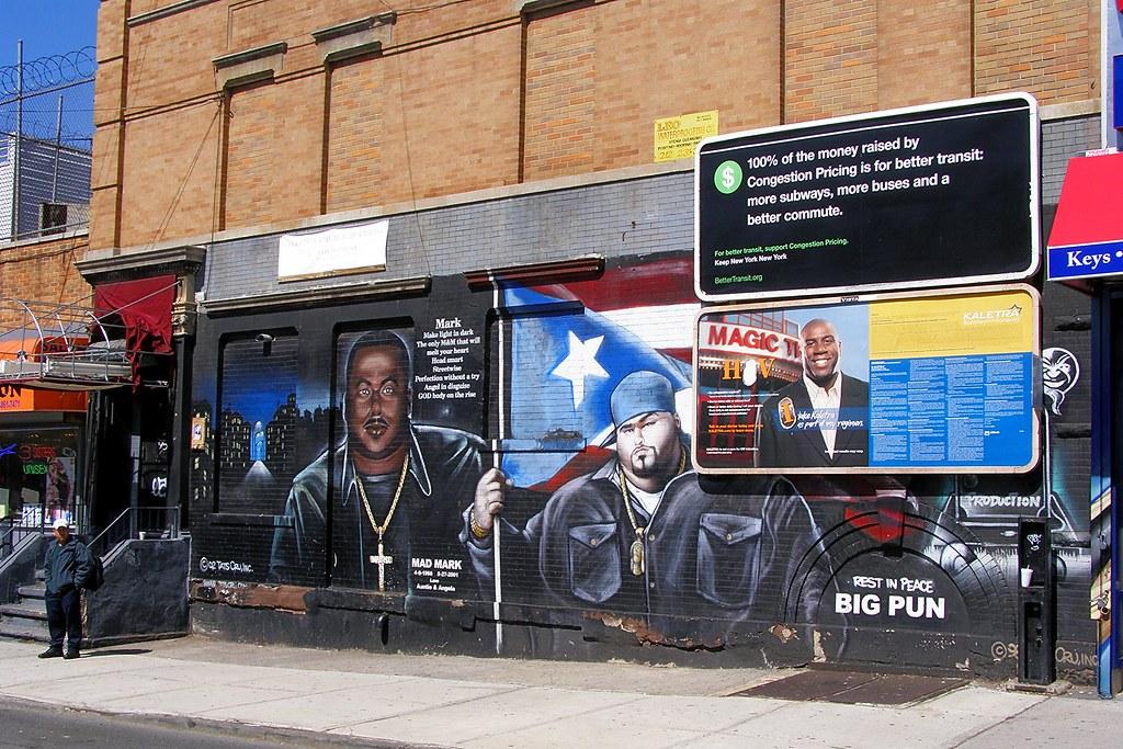 Mad Mark & Big Pun Tats Cru Graffiti Mural, South Bronx NY ...