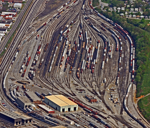 NS Rail Yard Roanoke,Va