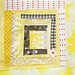 Yellow Squares Quilt Block 6