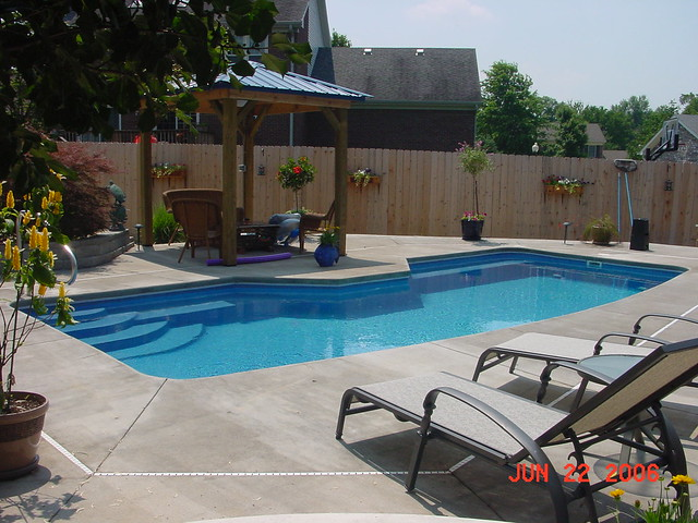 Triton 10a viking pools custom design clearwater for Pool design louisville ky