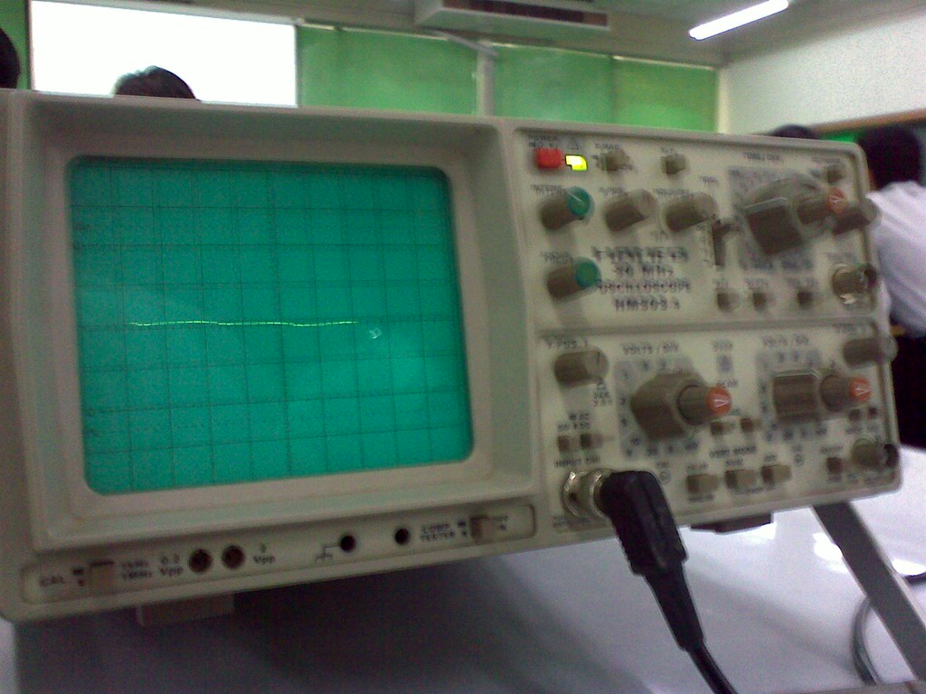 oscilloscope lab report 1 lab exercise oscilloscope measurement lab measuring impedance and capacitance with an oscilloscope and function generator  a circuit made up of a resistor and capacitor causes a.