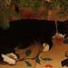 Felix under the christmas tree