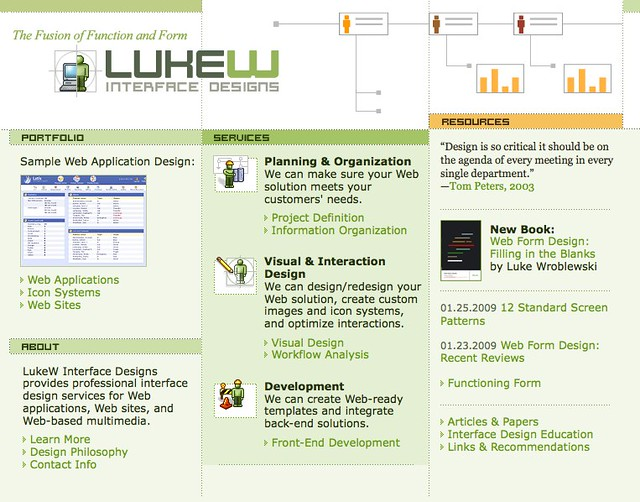 interface designs web application rich internet application design