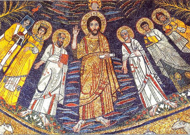 Santa Cecilia mosaic