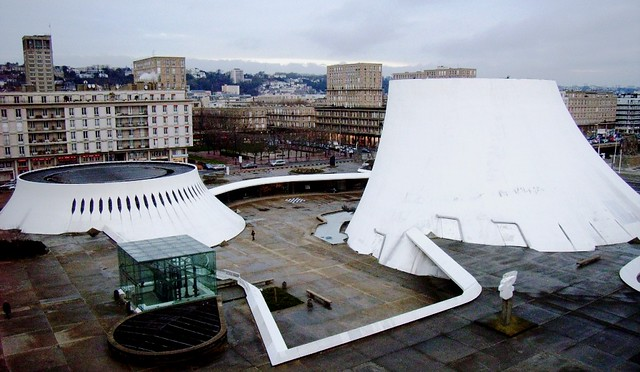 Le havre centre culturel oscar niemeyer lehavre76600 for 3d architecture le havre