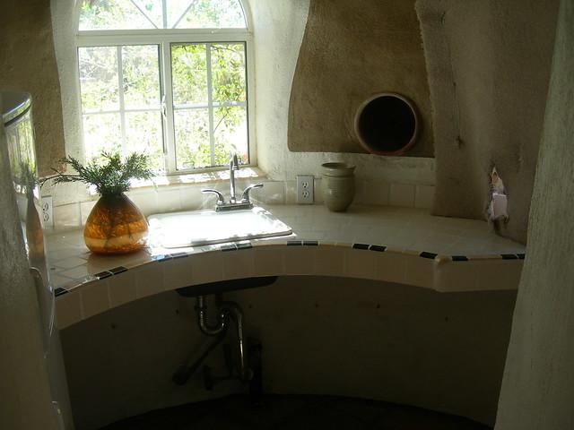 Cal Earth kitchen