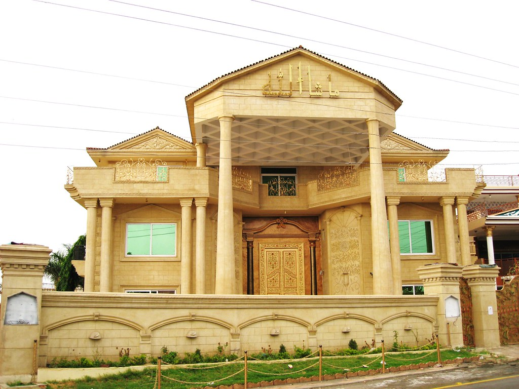 Mirpur azad kashmir a new house in mirpur 39 s posh f 1 for Home designs kashmir