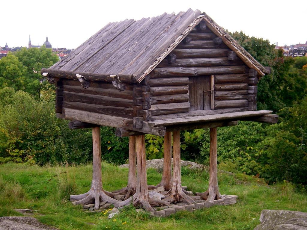 Traditional swedish log cabin maureen lunn flickr for Stili di log cabin