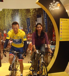 Lance Armstrong Statue at Madam Tussads | by swatiagl