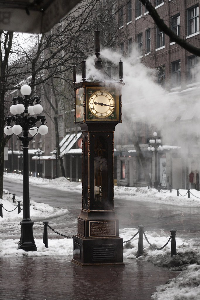 The Gastown Steam Clock Vancouver. | This is really cool ...