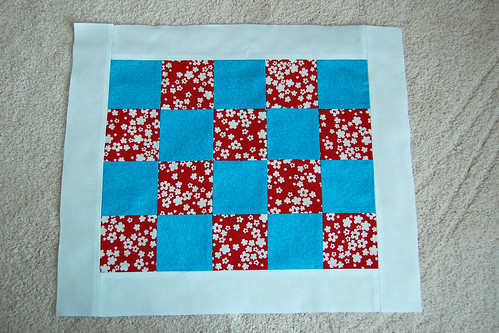 Doll quilt top front | by smithiness