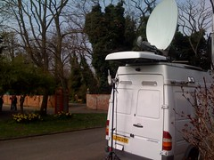 Live truck in Broughton | by cellanr