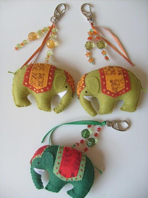 Aparador Nordico Segunda Mano ~ Chaveiros de elefantes indianos! Chaveiros de elefantes