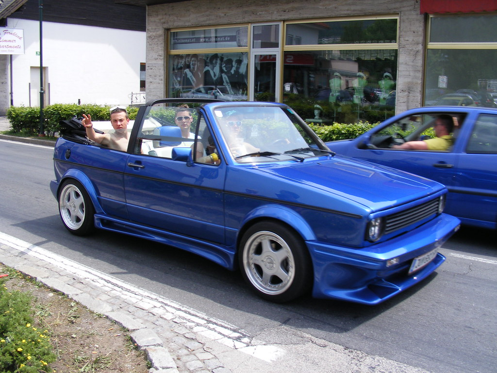 vw golf 1 cabrio blau blue mycedes flickr. Black Bedroom Furniture Sets. Home Design Ideas