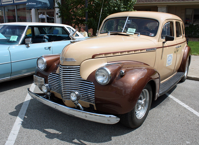 1940 chevrolet master deluxe 4 door sedan 2 of 5 for 1940 chevrolet 4 door sedan