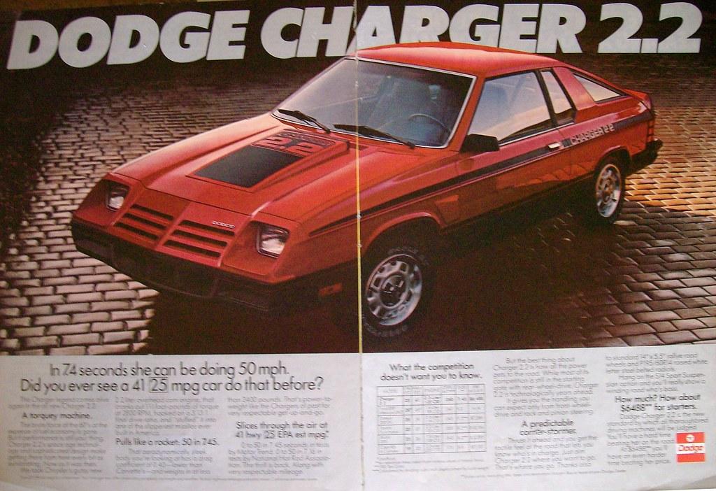 1981 Dodge Charger 2 2 Blondy Flickr