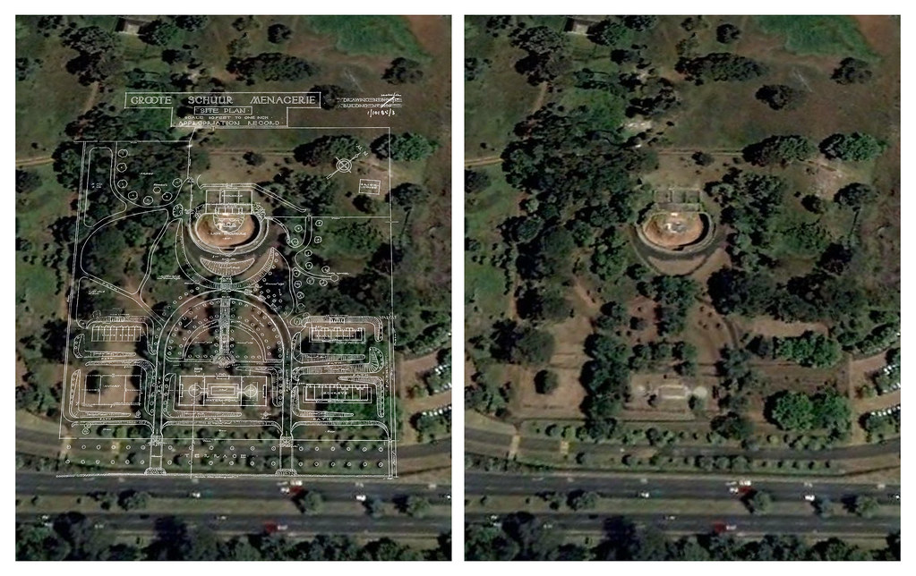 Abandoned Rhodes Zoo Google Earth Ground Plan Overlay