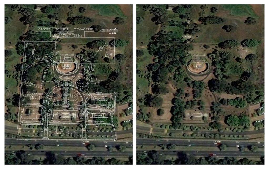 Abandoned Rhodes Zoo Google Earth Ground Plan Overlay