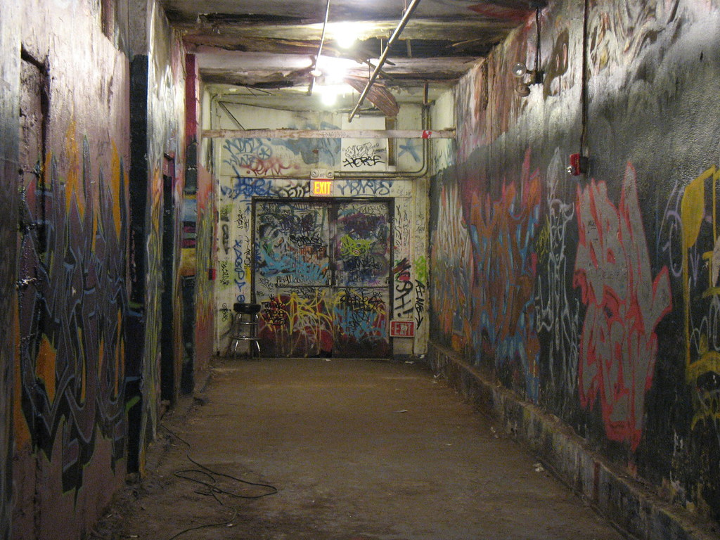 Charming Graffitied Hallway At The  Part 23