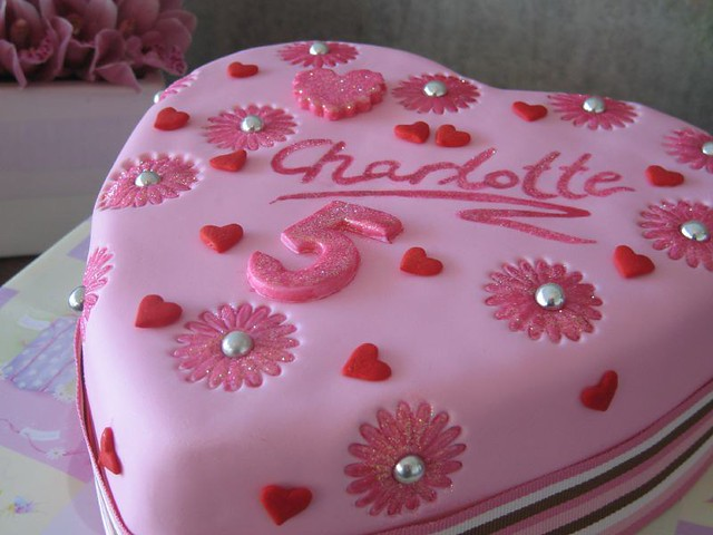 Birthday Cake Designs Love : Charlottes Love heart cake A chocolate and raspberry ...
