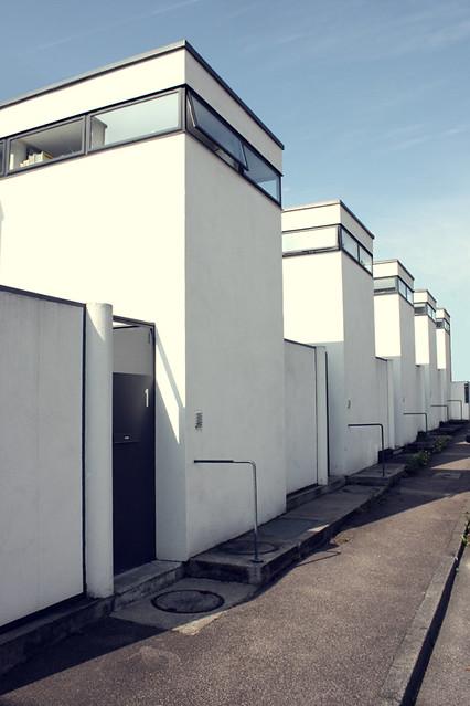 weissenhof row houses j j p oud stuttgart andrea preda flickr. Black Bedroom Furniture Sets. Home Design Ideas