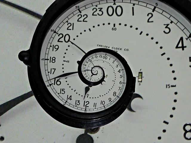 Cada 24 horas el tiempo espiral en un reloj singular - El tiempo getafe por horas ...