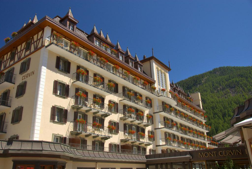 Hotel Mont Cervin Palace Zermatt Switzerland
