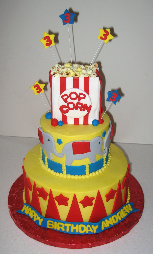 Circus Theme Cake Ideas