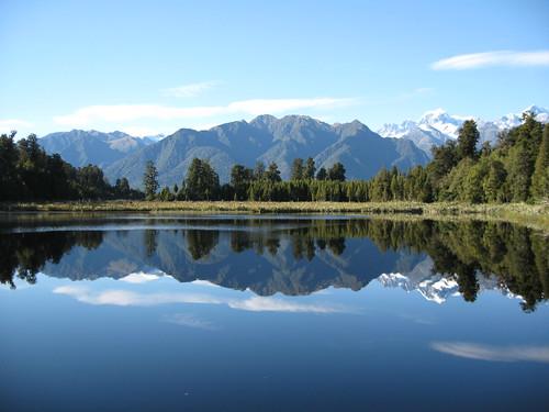 Mirror Lake, New Zealand