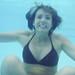 Emily underwater