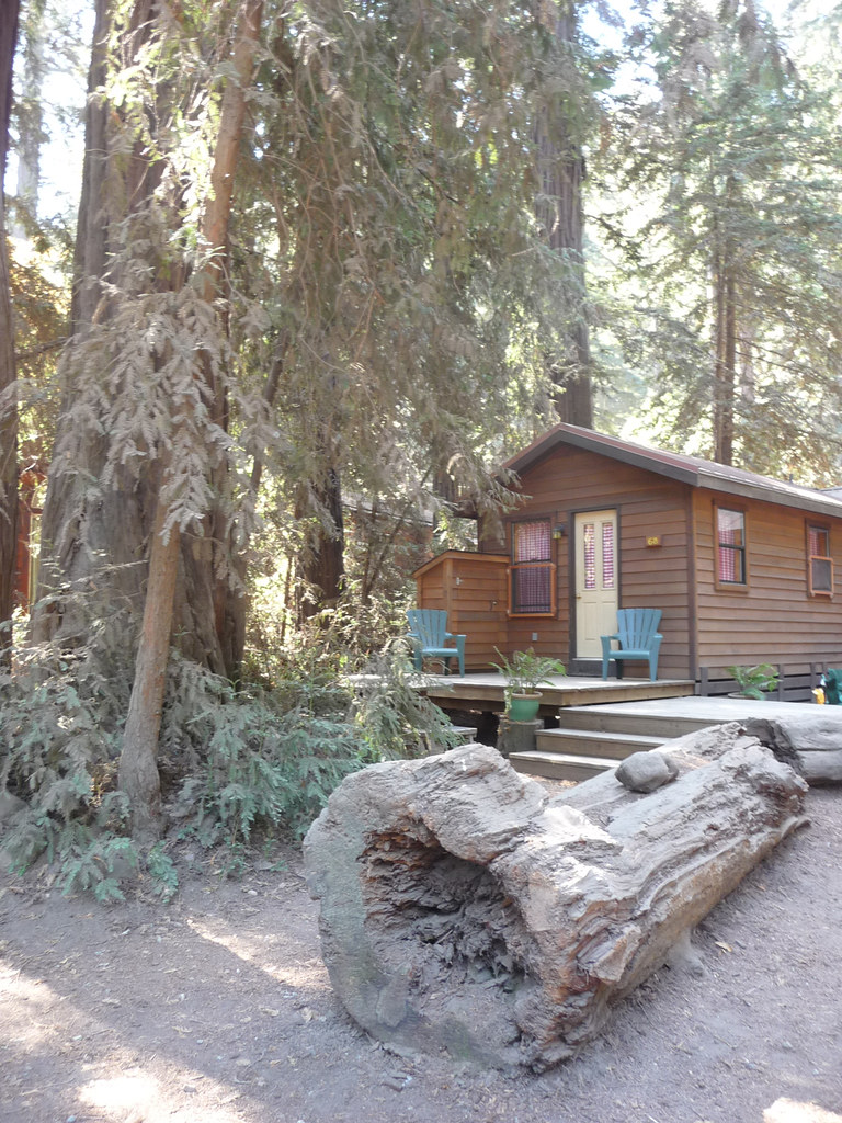 Big sur camping and cabins we stayed at in this cabin on for Big sur campground and cabins