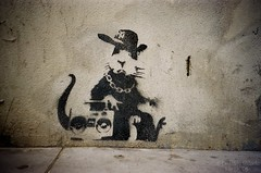 Banksy Hip Hop Rat | by thetimchannel