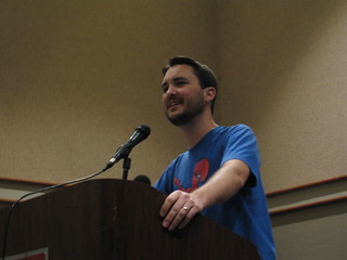 Speaking at Phoenix Comicon 2009 | by WilWheaton