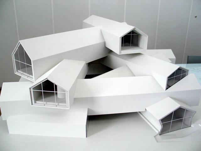 Vitra Haus Maqueta Inthesitymad Flickr