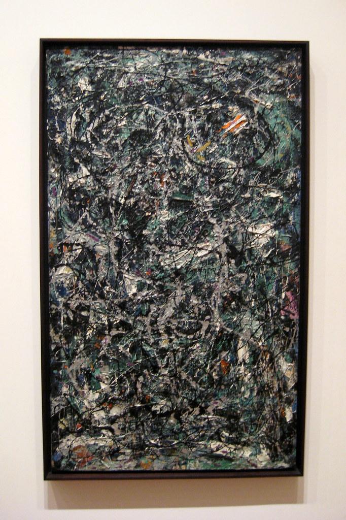 Nyc Moma Jackson Pollock S Full Fathom Five Full