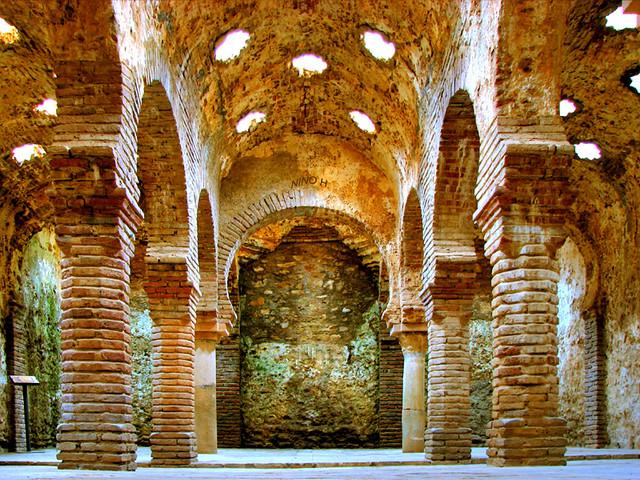 Ba os arabes ronda spain this thermal building of - Banos en madrid ...