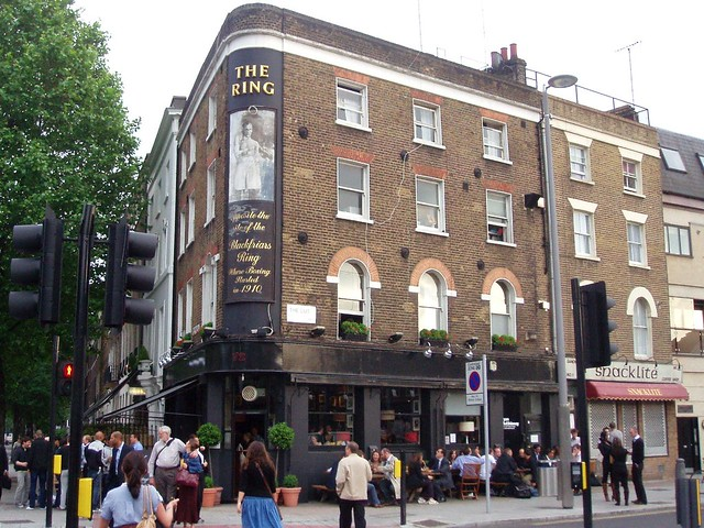 Ring Southwark Se1 Boxing Themed Pub On The Corner Of