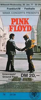Pink Floyd - Animals Tour - FfM - 1977