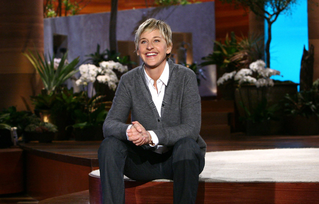 Ellen Degeneres - Women's Day 2016