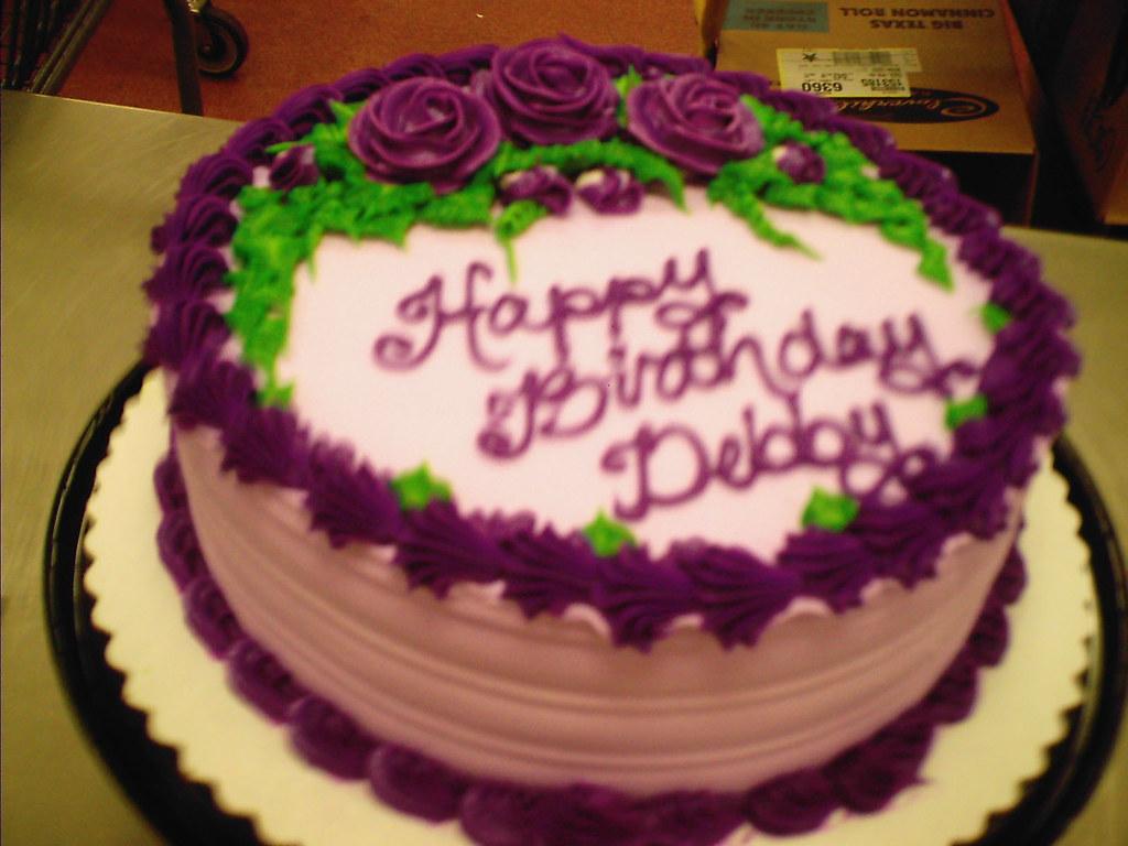 Happy Th Birthday Deb Cake Pictures