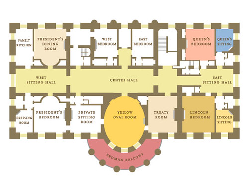 White House_2nd Floor Plan | labRAD | Flickr