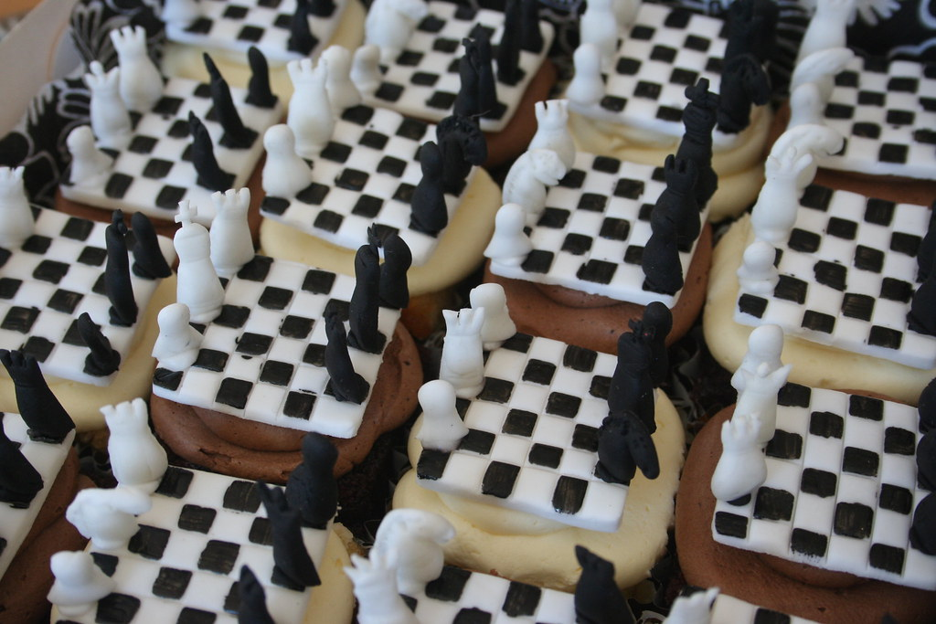 Chess Cakes Part Of An Order For A 99 Year Old Former
