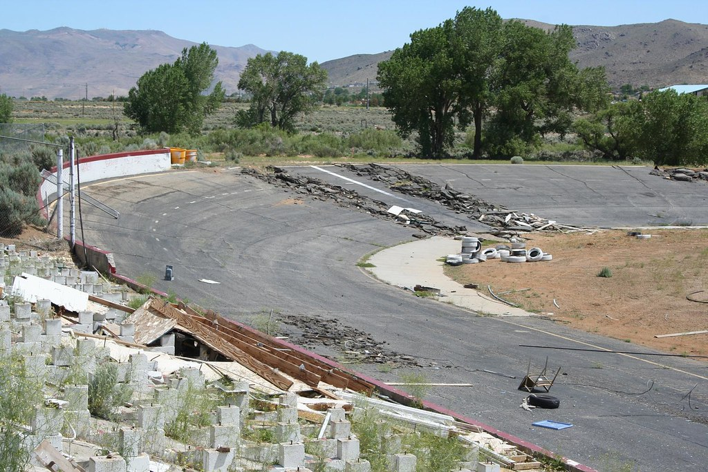 Champion Motor Speedway Vandalism Scott Schrantz Flickr