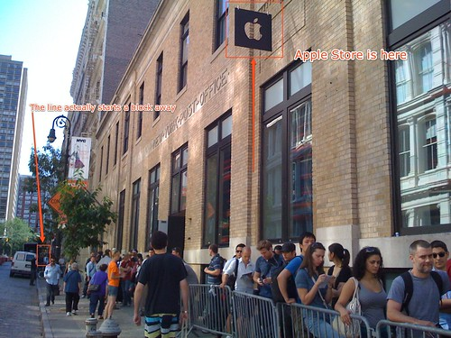 iPhone 3G, Day 5: Soho Store | by John Federico