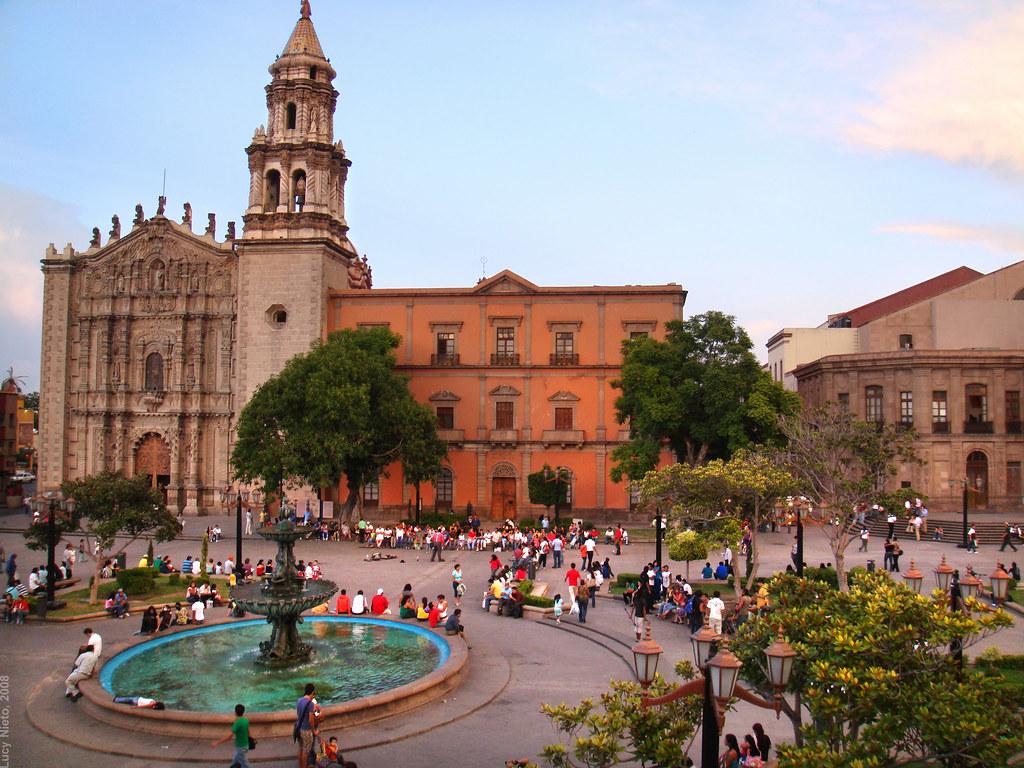 Plaza del Carmen, SLP.