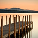 Weirs Beach Dock at Sunrise #2