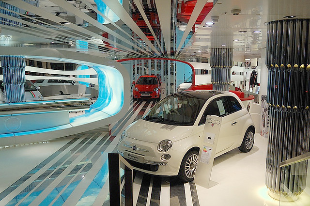 Fiat Showroom Fiat Showroom Wigmore Street London Www - Fiat dealers in london