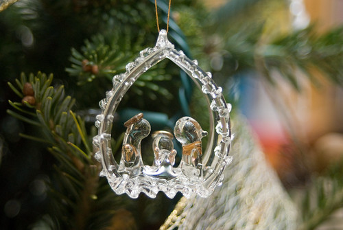 Glass nativity ornament - bright-03538 | by Laydros