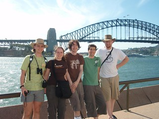 RTM team and the Harbour Bridge | by emilyboyd