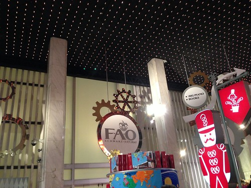 FAO Schwarz, 5th Ave., NYC. Nueva York